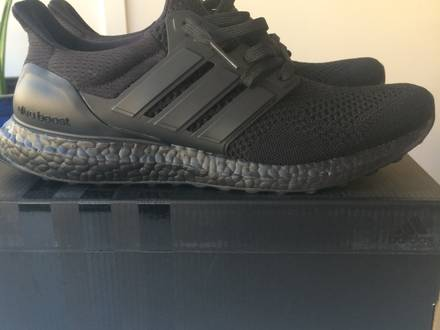 Adidas ultra BOOST 1.0 triple Black LTD - photo 1/8