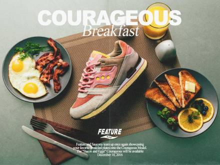 <strong>Saucony</strong> x feature Bacon and Eggs - photo 1/6