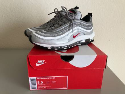 reputable site 71e88 211b6 Cheap Nike Air Max 97 OG Undefeated  On Foot Shots The Drop Date
