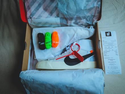 Nike Blazer Mid X Off-White - photo 1/5