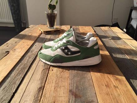 <strong>Saucony</strong> Shadow 6000 College Pack Green Black White - photo 1/6