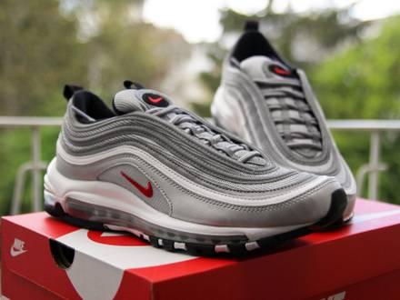 Nike <strong>Air</strong> <strong>Max</strong> <strong>97</strong> OG QS <strong>Silver</strong> Bullet EUR 41 / US 8 - photo 1/5