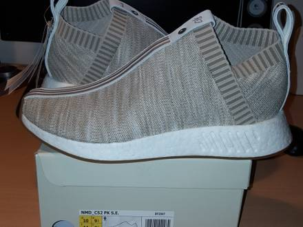 Adidas x Naked x Kith Consortium NMD_CS2 PK Sand - photo 1/6