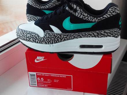 Nike Air Max 1 Retro Atmos Elephant Print - photo 1/8