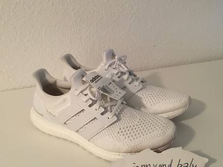<strong>Adidas</strong> Consortium <strong>Ultra</strong> <strong>Boost</strong> J & D <strong>Triple</strong> <strong>White</strong> (BRAND NEW) - photo 1/5