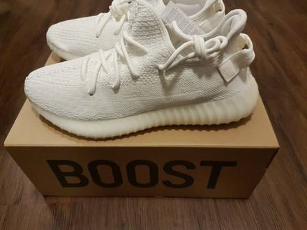 Adidas <strong>Yeezy</strong> Boost <strong>350</strong> V2 <strong>Cream</strong> <strong>White</strong> UK 9.5 - photo 1/7