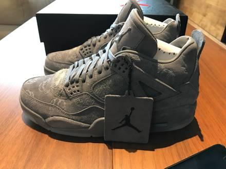 Nike Air Jordan IV RETRO 4 x KAWS US 8 - photo 1/7