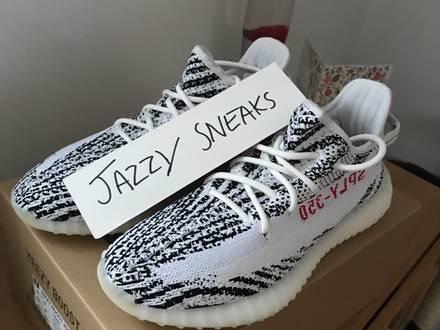 Adidas Yeezy Boost 350 V2 Zebra - photo 1/6