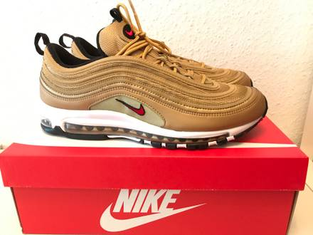 Nike <strong>Air</strong> <strong>Max</strong> Wmns <strong>97</strong> OG QS Metallic <strong>Gold</strong> EUR 40 US 8.5 - photo 1/5