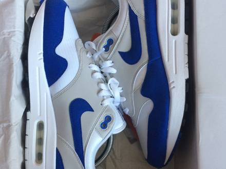 Nike Air Max 1 OG Blue Anniversary - photo 1/5