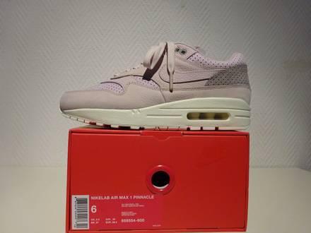 Nike Air Max 1 Pinnacle Silt Red/Pearl Pink US6/EUR38.5 - photo 1/5