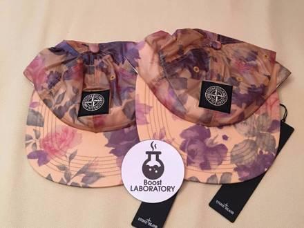 SUPREME®/ STONE ISLAND® 6 PANEL HAT CAP COPPER BLACK FLOWER DSWT - photo 1/5