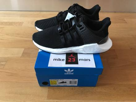 Adidas EQT Support boost 93/17 black white 9.5US nmd yeezy PK - photo 1/5