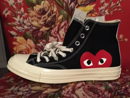 CONVERSE x <strong>Comme</strong> <strong>des</strong> <strong>Garcons</strong> Play Black - photo 1/8