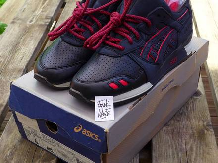 Asics Gel Lyte III 3 Total Eclipse Ronnie Fieg - US6 - Og Box and Extra Laces - photo 1/7