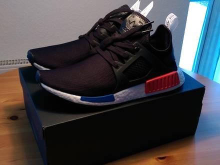 "<strong>Adidas</strong> <strong>NMD</strong> <strong>XR1</strong> PK ""OG"" Core Black/Core Black/White - photo 1/7"