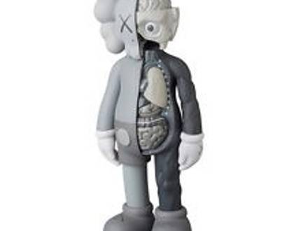 """Kaws Open Edition 11"""" toy grey Dissected - photo 1/5"""