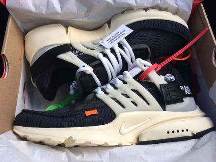 Nike x Off - White Air Presto 'The Ten' UK 10 FREE SOCKS - photo 1/5