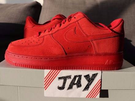 Nike Air Force 1 '07 LV8 Gym Red - photo 1/5