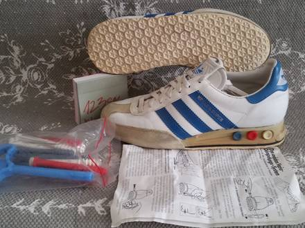 Adidas Kegler Super 1981 Made in West Germany Eu 38,5 hypebeast sns ZX 350 Yeezy Bape Defeated - photo 1/8