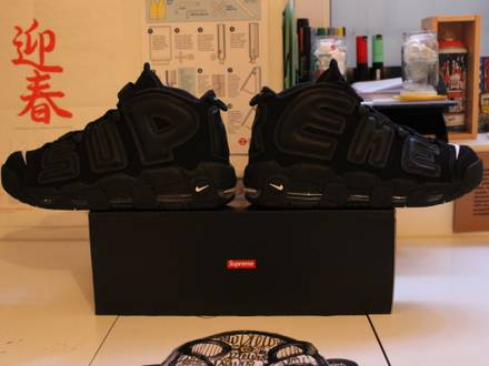 <strong>Supreme</strong> x Nike Air More <strong>Uptempo</strong> 10US - photo 1/8