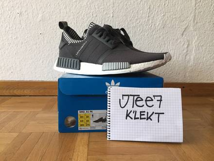 adidas NMD R1 PK Japan Pack Solid Grey BOOST - photo 1/5