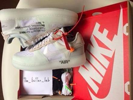"Nike x Off White Air Force 1 Low ""The Ten"" - photo 1/7"