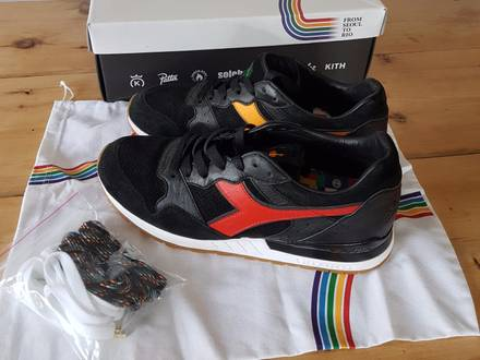 "Diadora X Packer Shoes Intrepid ""From Seoul to Rio"" - photo 1/6"