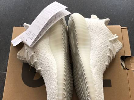 Adidas <strong>Yeezy</strong> Boost <strong>350</strong> v2 Infant US9K - <strong>Cream</strong> <strong>White</strong> - photo 1/5