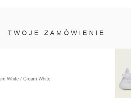 Yeezy boost 350 v2 cream white - photo 1/5