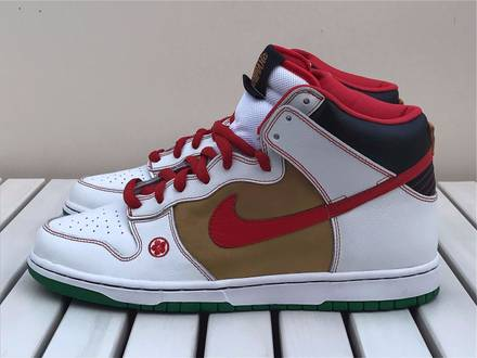 "Nike Dunk High Pro SB ""Money Cat"" - photo 1/8"