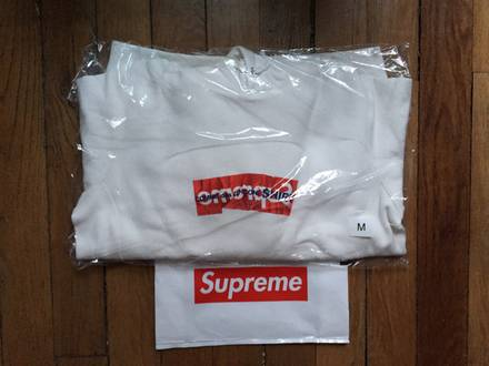 Supreme x Comme des Garcon CDG shirt Box Logo hoodie - photo 1/5
