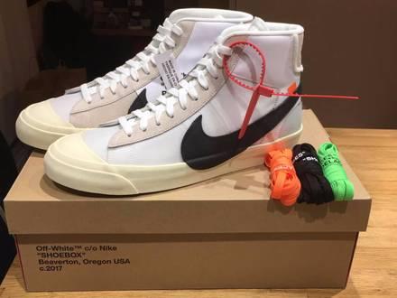 Nike Blazer Off-White The Ten 11US - photo 1/5