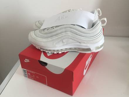 Nike Air Max 97 Summit White Snakeskin Neu Gr:44 / US 10 / UK 9,5 - photo 1/5