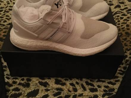 adidas Y3 Pure Boost Triple White - photo 1/5