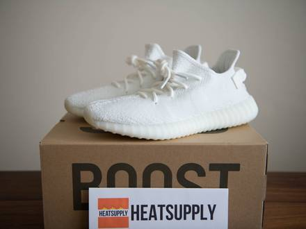 adidas YEEZY BOOST 350 V2 'Cream/White' US11 Deadstock - photo 1/5