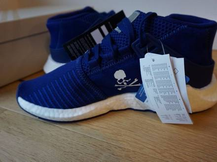 Adidas Mastermind EQT Support 93/17 Mid MMW Ink Blue US 10 UK 9 EU 44 - photo 1/8