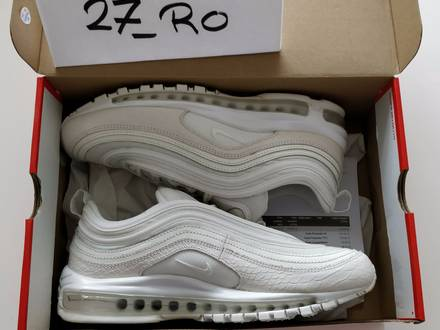 NIKE AIR MAX 97 SUMMIT WHITE us 10 - photo 1/5