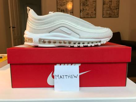 Nike Air Max 97 Summit White Snakeskin - photo 1/6