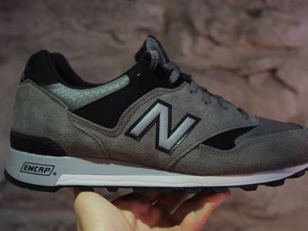 New Balance 577 GL UK Size 9.5 Trainers // Grey Suede // Made in England - photo 1/5