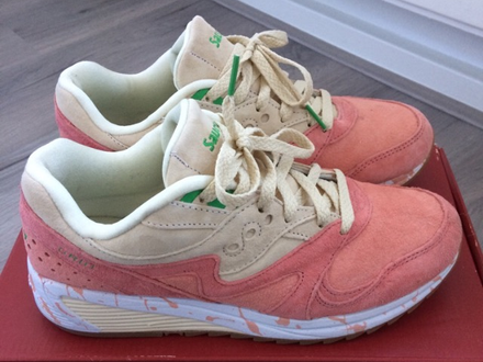 """<strong>Saucony</strong> grid 8000 """"shrimp"""" - photo 1/6"""