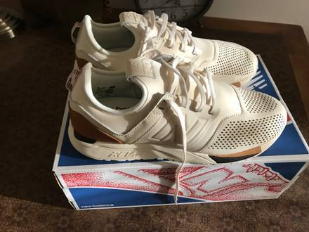 New-Balance-247-Luxe-43-White-Weiss-Deadstock New-Balance-247-Luxe-43-White-Weiss-Deadstoc - photo 1/5