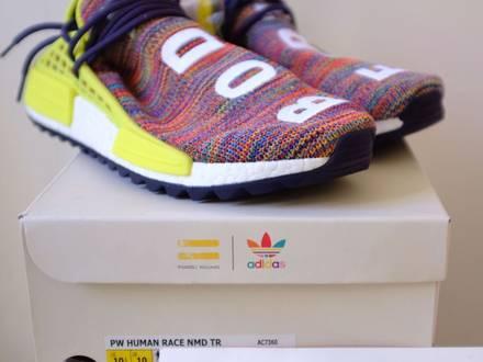 Adidas NMD HUMAN RACE AC7360 yeezy off white nike - photo 1/5