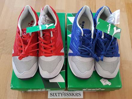 <strong>DIADORA</strong> N 9000 NYL RED + BLUE Pack - photo 1/5