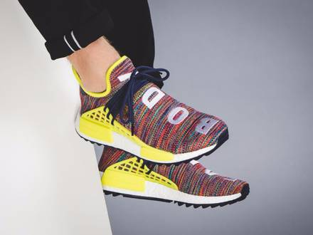 Pharrell x Adidas NMD Human Race Multicolor - photo 1/5