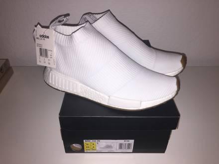 DS Adidas NMD CS1 GUM Pack white 43 1/3 City Sock PK Primeknit OG Ultra Boost - photo 1/5