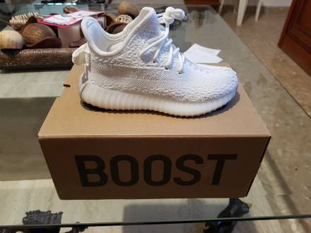 <strong>Yeezy</strong> boost <strong>350</strong> v2 infant <strong>white</strong> <strong>cream</strong> - photo 1/6
