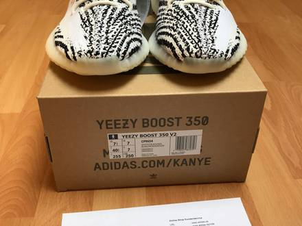 Adidas <strong>Yeezy</strong> Boost 350 V2 <strong>Zebra</strong> UK 7 / 40 2/3 - photo 1/6