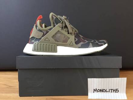 <strong>Adidas</strong> <strong>NMD</strong> <strong>XR1</strong> Camo Olive/Green - photo 1/5