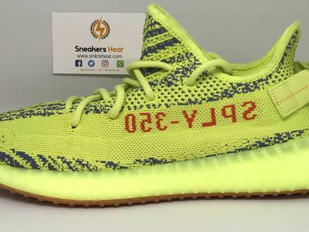 YEEZY BOOST 350 V2 SEMI FROZEN YEBRA - photo 1/5